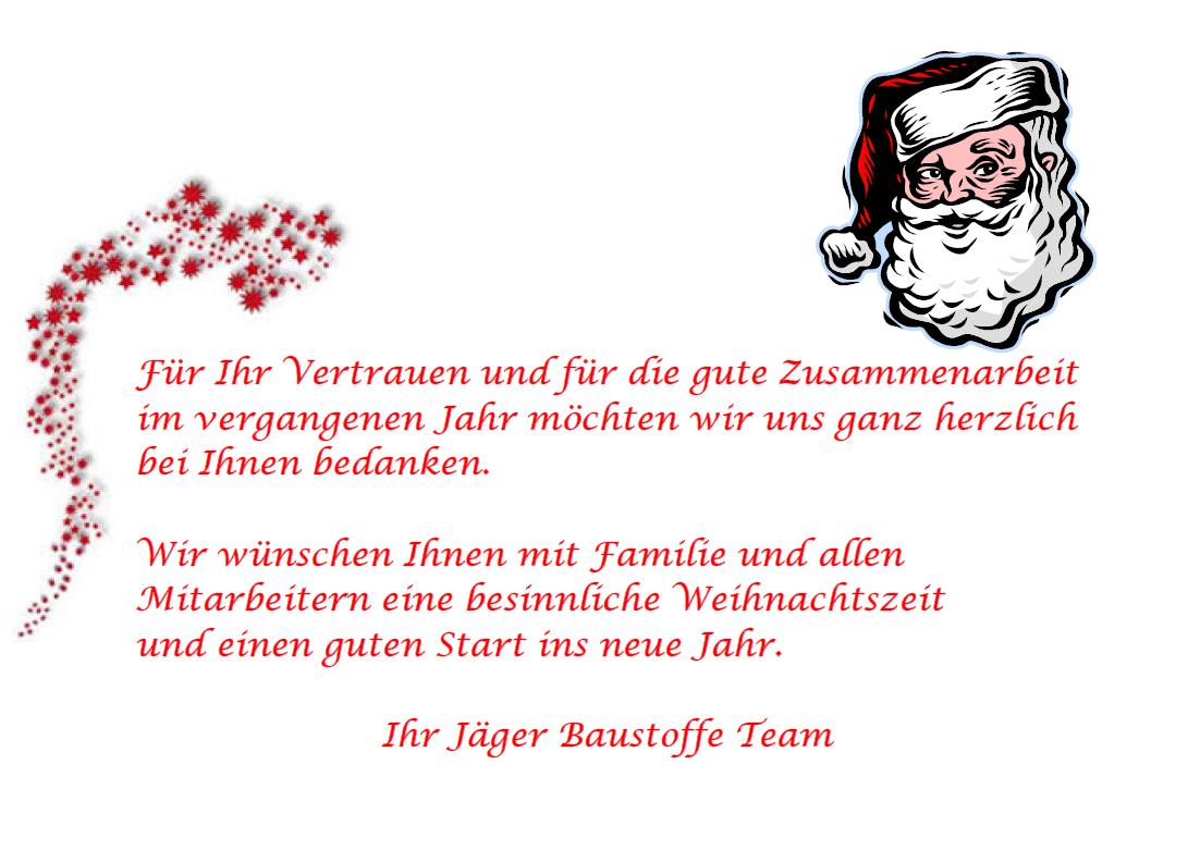 Weihnachtsgrüße / Geänderte Öffnungszeiten